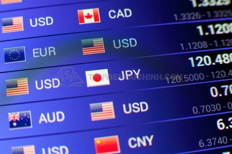 Các cặp tiền chính quan trọng trong Forex