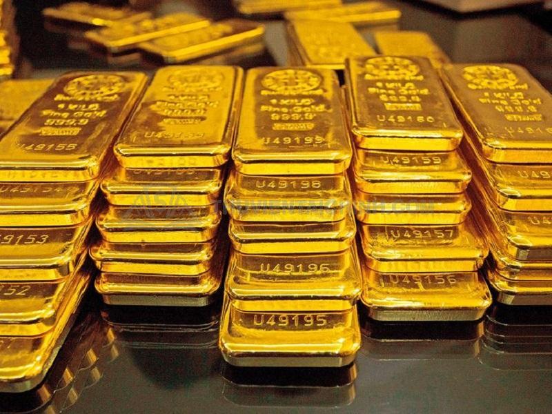 Vàng miếng là khối tài sản cất giữ khổng lồ