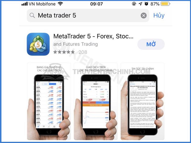 Hướng dẫn tải phần mềm MT5 LiteForex về máy tính và điện thoại